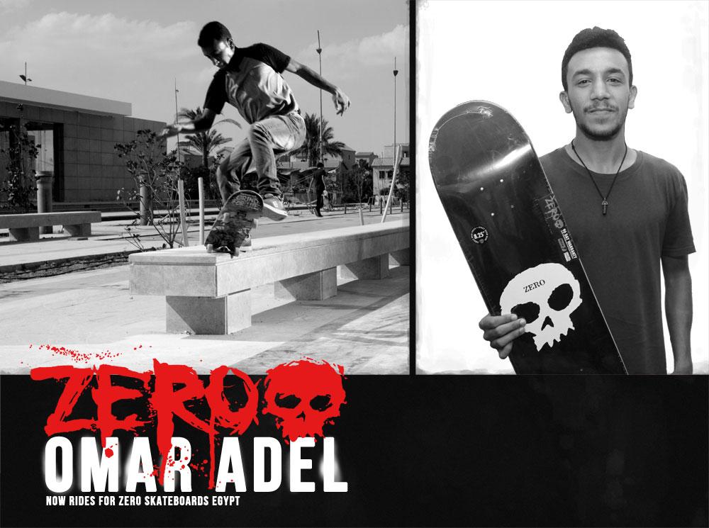 Omar Adel Zero Skateboards